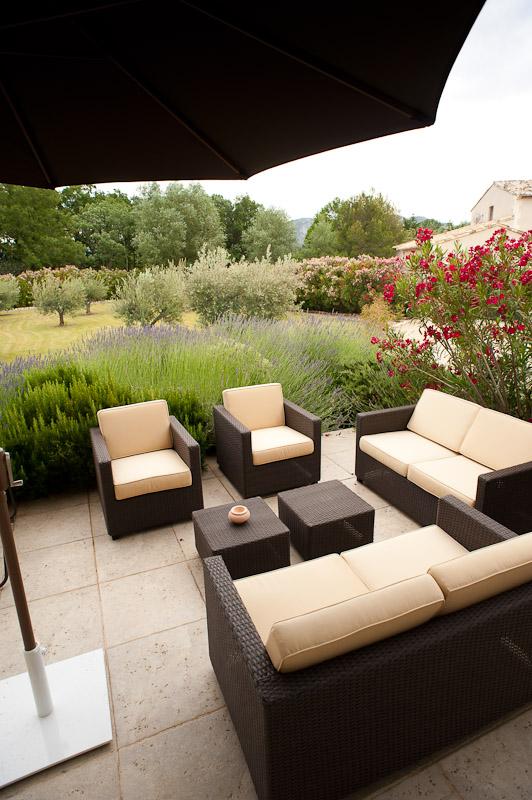 Terrasse principale/main terrace